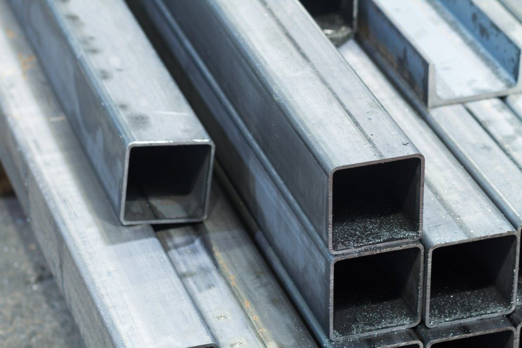 Metal steel bar