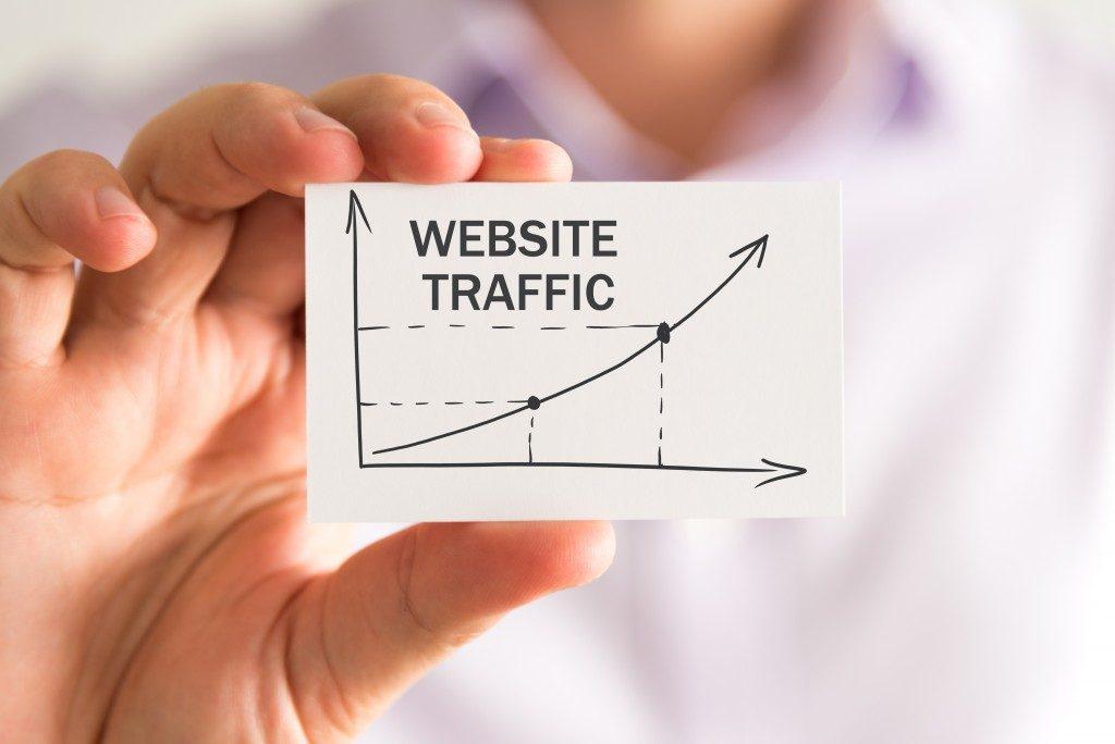 increasing website traffic