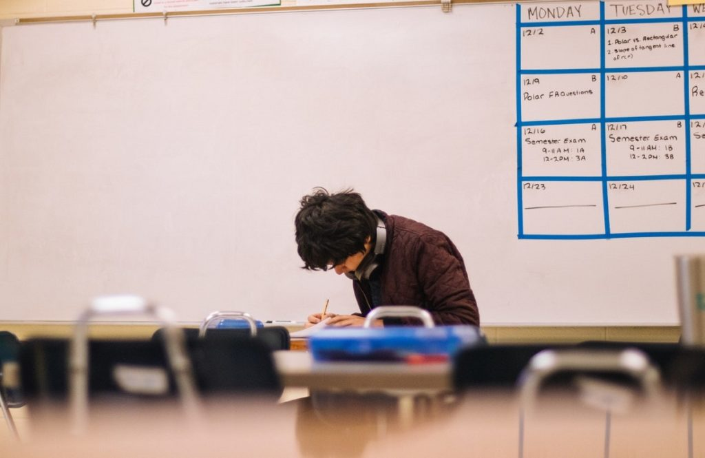 Studying alone