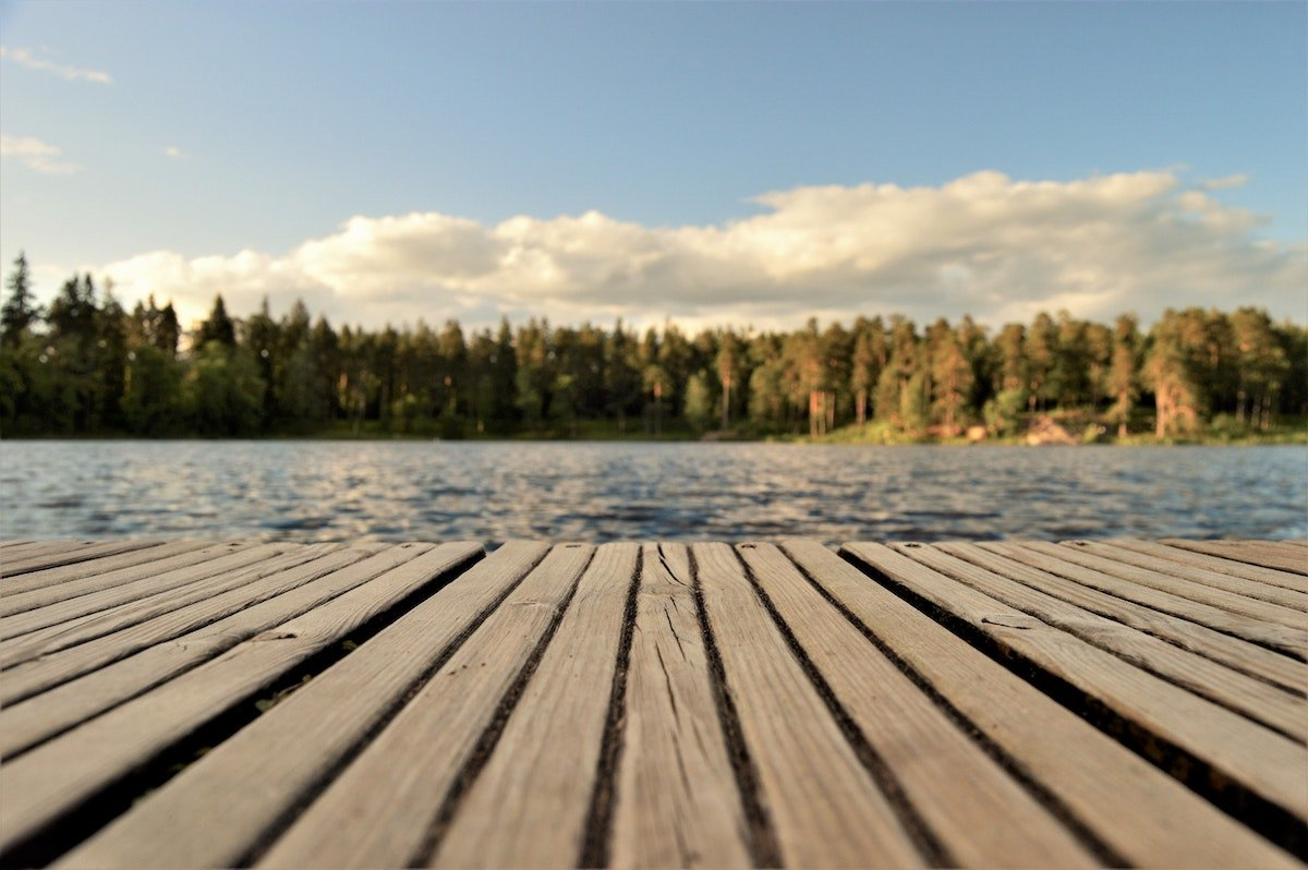 dock by the lake