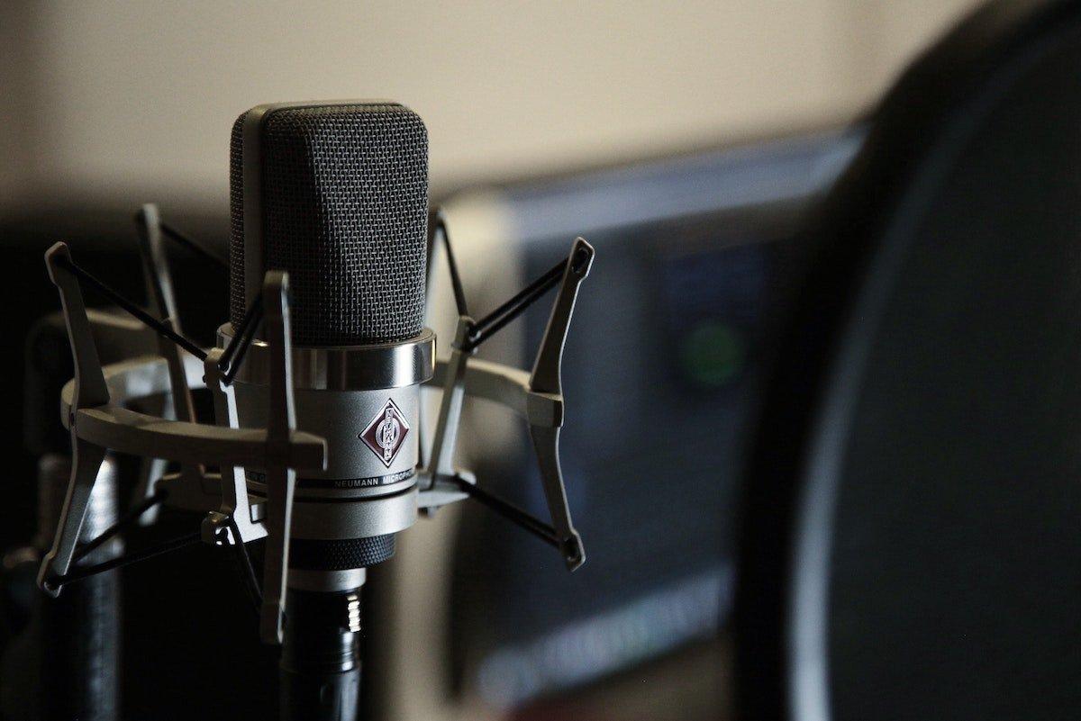 microphone set up